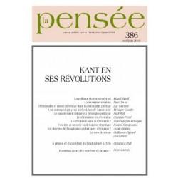 La Pensée n° 386 – Kant en ses révolutions : Chapter 11