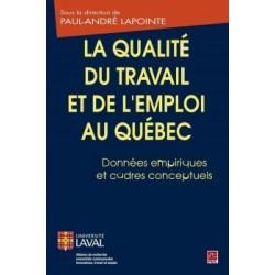 La qualité du travail et de l'emploi au Québec. Données empiriques et cadres conceptuels : Chapter 6
