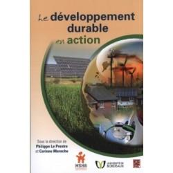 Le développement durable en action : Content