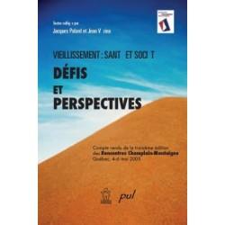 Vieillissement: santé et société. Défis et perspectives : Chapter 1