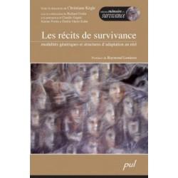Les récits de survivance. Modalités génériques et structures d'adaptation au réel. : Chapter 1