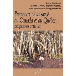 Promotion de la santé au Canada et au Québec, perspectives critiques : Chapter 1