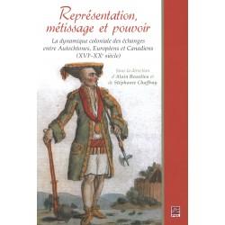 Représentation, métissage et pouvoir, under the direction of Alain Beaulieu : Contents