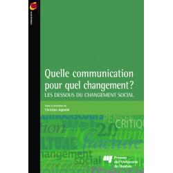 Quelle communication pour quel changement ? / Sous la direction de Ch. Agbobli / CHAPITRE 12
