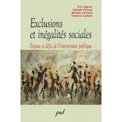 Exclusions et inégalités sociales. Enjeux et défis de l'intervention publique : Chapter 1