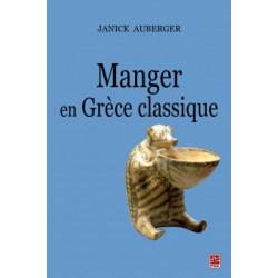 Manger en Grèce classique, by Janick Auberger : Chapter 1