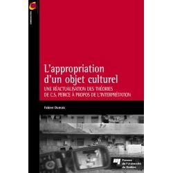 L'appropriation d'un objet culturel DE Fabien Dumais / CHAPITRE 5