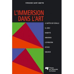 L'Immersion dans l'art de Fernande Saint-Martin : LE « FAUX » MONDRIAN DE LICHTENSTEIN (1964)