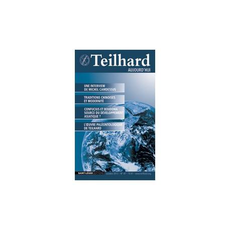 Revue Teilhard de Chardin Aujourd'hui N°47 : Article 4
