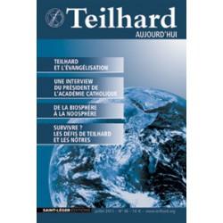 Revue Teilhard de Chardin Aujourd'hui N°46: Sommaire