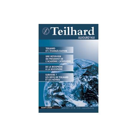 Revue Teilhard de Chardin Aujourd'hui N°46: Article 1