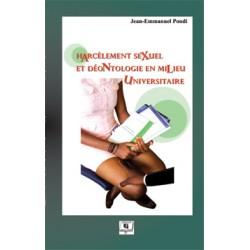 Harcèlement sexuel et déontologie en milieu universitaire de Jean-Emmanuel Pondi : Chapter 1