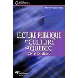 Lecture publique et culture au Québec / CHAPITRE 3