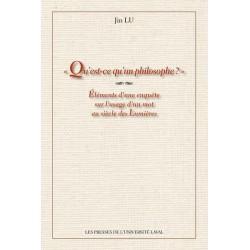 Qu'est-ce qu'un philosophe ? de Jin Lu : 1.Chapter 3