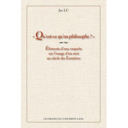 Qu'est-ce qu'un philosophe ? de Jin Lu : 1.Chapter 1