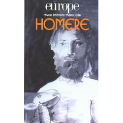 Revue littéraire Europe numéro N° 865 / Mai 2001- Homère : Table of contents