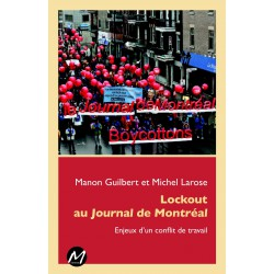 Lockout au Journal de Montréal : Table of contents