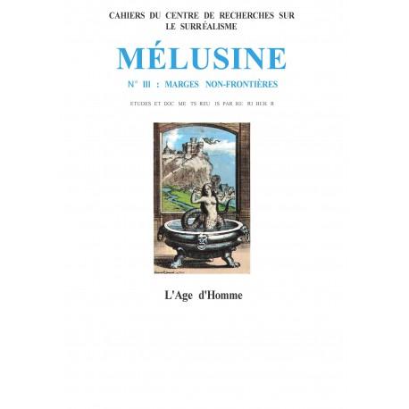 Mélusine, n° 3 : Marges non frontières / LE MODERNISME POÉTIQUE EN ISLANDE Régis BOYER
