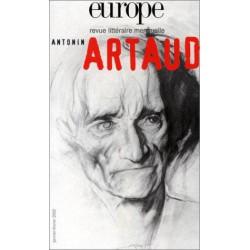 Revue littéraire Europe - Antonin Artaud : Table of contents