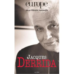 Revue Europe : Jacques Derrida : Chapter 1