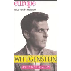 Revue Europe : Wittgenstein : Table of contents