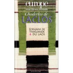 Revue Europe : Choderlos de Laclos : Table of contents