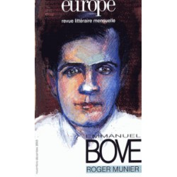 Revue Europe : Emmanuel Bove : Chapter 1