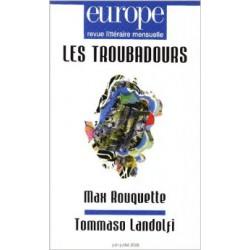 Les troubadours : Table of contents