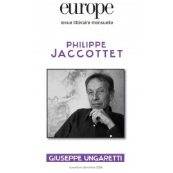 Revue Europe : Philippe Jaccottet : Chapter 13