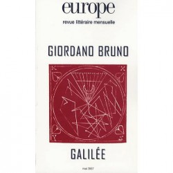 Revue Europe : Giordano Bruno et Galilée : Table of contents