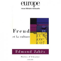 Revue Europe : Freud et la culture : Table of contents