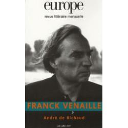 Franck Venaille : Table of contents