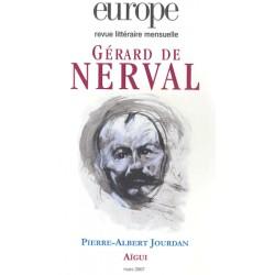 Gérard de Nerval : Table of contents