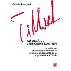 Au-delà du criticisme kantien, de Claude Perrottet : Table of contents