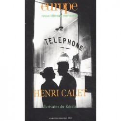Revue littéraire Europe : Henri Calet : Table of contents