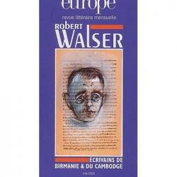 Robert Walser : Table of contents