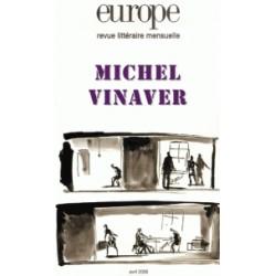 Revue littéraire Europe : Michel Vinaver : Table of contants