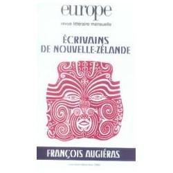 Revue littéraire Europe : Écrivains de Nouvelle-Zélande : Table of contents