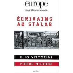 Revue littéraire Europe : Les écrivains du Stalag : Chapter 1