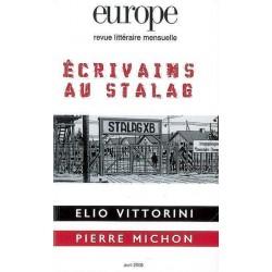 Revue littéraire Europe : Les écrivains du Stalag : Chapter 10