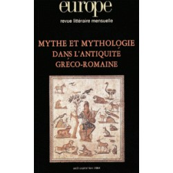 Mythe et mythologie dans l'Antiquité gréco-romaine_Artelittera.com