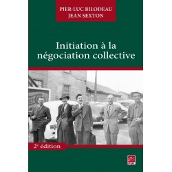 Initiation à la négociation collective : Contents