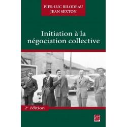 Initiation à la négociation collective : Contents