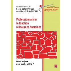 Professionnaliser la fonction ressources humaines : Contents