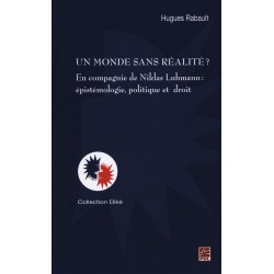 Un monde sans réalité? En compagnie de Niklas Luhmann, de H. Rabault : Chapter 1